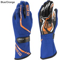 スパルコレーシンググローブトーピードKG5ブルーオレンジ