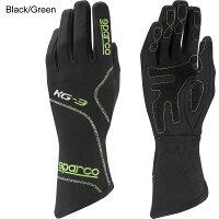 スパルコレーシンググローブブリザードKG3ブラックグリーン