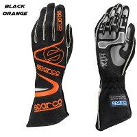 スパルコレーシンググローブアローrg7ブラックオレンジ