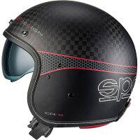 SparcoスパルコジェットヘルメットCR-9カーボン2016年モデル