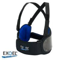 EXGELエクスジェルリブプロテクタードライカーボンベスト17Liteレーシングカート用
