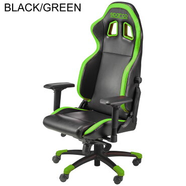 スパルコゲーミングチェアGRIPオフィスチェアリクライニングバケットシート座椅子耐荷重100kg