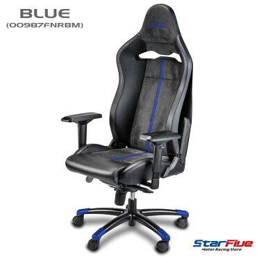 Sparco/スパルコゲーミングチェアCOMP-Vオフィスチェアアルカンターラリクライニングバケットシート座椅子耐荷重100kgSparco