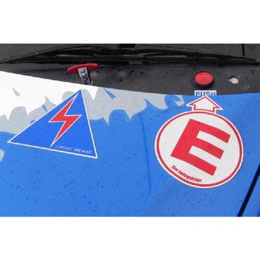 IRSスパークシート競技車用マークシールFIA/JAF競技車両規則準拠ステッカー