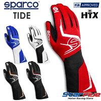 Sparco/スパルコレーシンググローブ4輪用外縫いTIDE(タイド)FIA8856-2018公認2020年モデル(サイズ交換サービス)