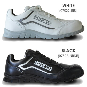 スパルコセーフティーシューズNITRO(ニトロ)S3-SRC安全靴Sparco