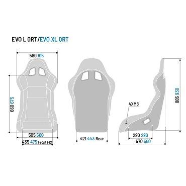 スパルコフルバケットシートEVOLQRT(エボ)FIA公認Sparco