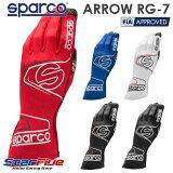 スパルコ レーシンググローブ 4輪用 ARROW RG-7 EVO(アロー) FIA2000公認 SPARCO