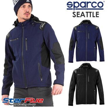 スパルコソフトシェルジャケットSEATTLE(シアトル)Sparco2020年モデル