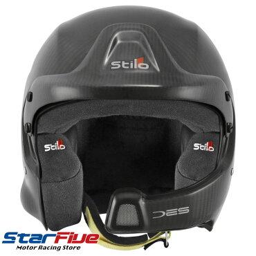 Stilo(スティーロ)オープンジェットヘルメットカーボンWRCDESCARBONPIUMA4輪用FIA8859-2015公認