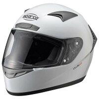 SparcoスパルコヘルメットClubX1ホワイトカート・走行会向け
