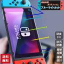 スイッチ Nintendo Switch ブルーライトカット 保護フィルム フィルム ガラスフィルム ポイント消化 送料無料