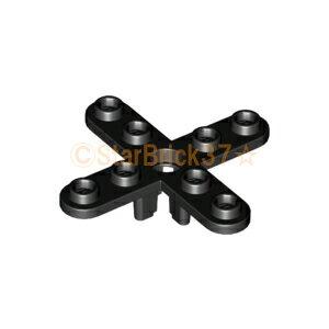 レゴ 飛行機 パーツ プロペラ[4枚刃・5スタッド分] ブラック LEGO ばら売り