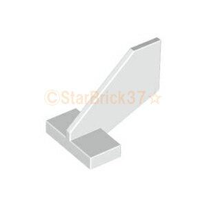 レゴ 飛行機 パーツ シャトルテイル2×3×2[尾翼小] ホワイト LEGO ばら売り