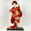 【日本人形 尾山人形 市松人形】 【54】日本人形 [扇舞] 【訳あり品 アウトレット】【RCP】【smtb-s】