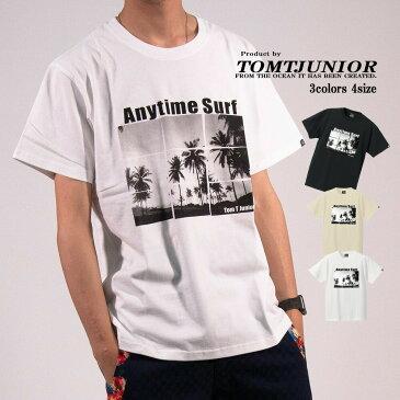 プリントTシャツ メンズ 半袖 Tシャツ 送料無料 大きいサイズ ビッグTシャツ クルーネック ロゴ トップス カジュアル 大人気 フォトプリントT トロピカル ハワイ ロゴT ストリート ボーダー サーフ