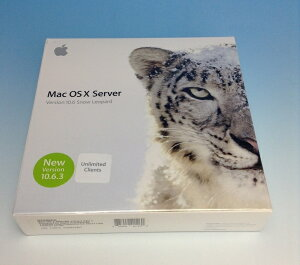 Mac OS X 10.6.3 Snow Leopard Server Unlimited クライアント MC588Z/A スノー レオパード