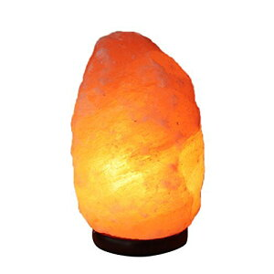 Homankit ヒマラヤ岩塩ランプ 1.2〜2kg 空気浄化と癒しの灯り ナチュラルクリスタル ランプ 天然塩製