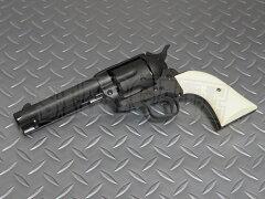 マルシン工業 6mmBBガスリボルバー コルトSAA.45 ピースメーカー ブラックヘビーウェイト ...
