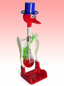【NEW】平和鳥 <中国製> ハッピーバード(赤)-水飲み鳥 【科学実験玩具】