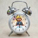 【オリジナル時計】「ツインベル型 目覚まし時計 MY写真タイプ」/お誕生日・内祝い・出産内祝い・結婚内祝い・贈り物・新築祝い・引越祝い【RCP】