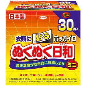 興和新薬ホッカイロ ぬくぬく日和 貼るミニ 30個
