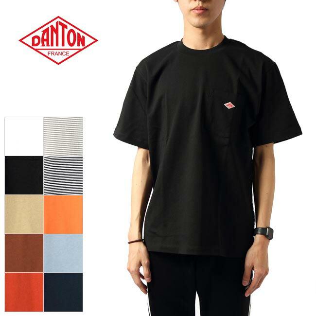 DANTONポケット付きTシャツJD9041