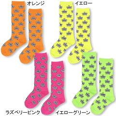 ネオンカラーハイソックス-靴下 雑貨 出産内祝い 出産祝い プレゼント ギフト 女の子 男の子 キッズ ベビードール BABYDOLL-5170_fw