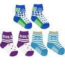 BABYDOLL 靴下#3PSOCKS_R006(ベビードール)