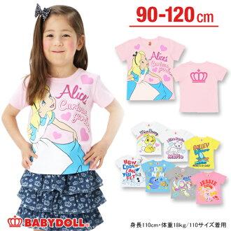 50%的折扣 ★ 出口銷售迪士尼 _ 字元集合 ★ 各種 t 恤孩子服裝寶貝孩子男孩女孩男孩女孩娃娃娃娃裝注滿