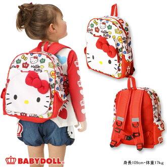 1/4NEW三麗鷗_Hello Kitty_小孩帆布背包-雜貨嬰兒小孩女人的孩子嬰兒多爾BABYDOLL starvations HELLOKITTY-8922_ss