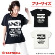 50%OFF SUMMER SALE大人限定★UNITEDTシャツ-大人 レディース ベビードール BABYDOLL starvations-9351A_ss_sts