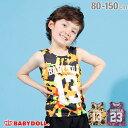 【50%OFF サマーSALE】ナンバリング タンクトップ 2476K ベビードール BABYDOLL 子供服 ベビー キッズ 男の子 女の子