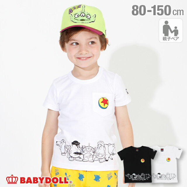 トップス, Tシャツ・カットソー S30 T 4107K BABYDOLL DISNEYCollection