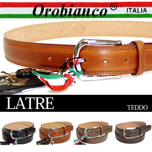 オロビアンコ ベルト OROBIANCO メンズ レザー LATRE TEDDO//LATRE-TED