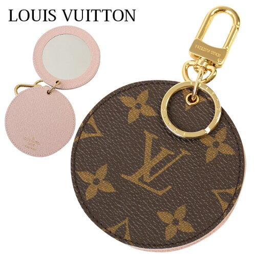 ルイヴィトン LOUIS VUITTON LV ルイビトン バッグチャーム キーホルダー 携帯ミラー PORTE-CLES L...