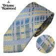 ヴィヴィアンウエストウッド Vivienne Westwood ネクタイ レギュラータイ チェック T85 FM96 0003//T85-FM96-0003-HC【新品】