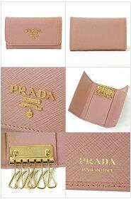 プラダPRADA6連キーケース1PG222SAFFIANOMETALORCHIDEA//1PG222-SM-ORCH【新品・正規品】