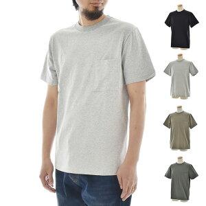 グッドウェア Goodwear Tシャツ 四角ポケット付き 半袖Tシャツ ショートスリーブ ポケT ヘビーウェイト 厚手 ティーシャツ カットソー メンズ レディース ブランド 7オンス 7oz 無地 大きいサイズ 白 黒 USA コットン 2W7-2500