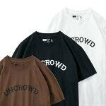 UNCROWDアンクラウドTシャツUC-800-020PRINTTEE'S-logo-BLUCOブルコ