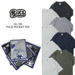 BLUCOブルコOL-700ORIGINAL2PACKPOCKETTEE2枚セット2パックTシャツ