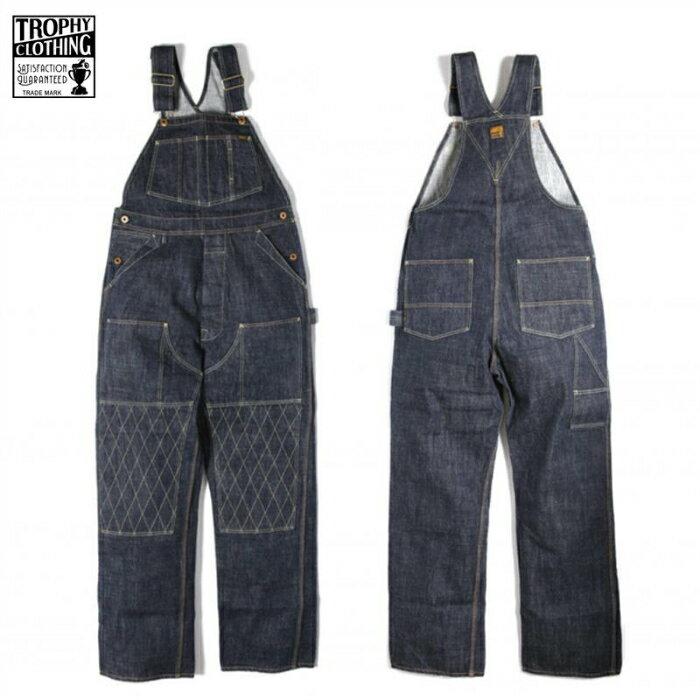 メンズファッション, オーバーオール TROPHY CLOTHING 1603W WKNEE CARPENTER OVERALLS