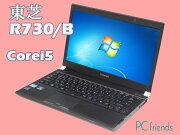 ���DynabookR730/B(Corei5/̵��LAN/A4������)Windows7Pro�����ťΡ��ȥѥ������C���