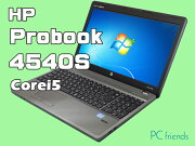 HPProBook4540S(Corei5/̵��LAN/A4������)Windows7Pro�����ťΡ��ȥѥ������A���