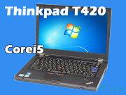 LenovoThinkpadT420i4177-R5J(Corei3/̵��LAN/A4������)Windows7Pro�����ťΡ��ȥѥ������A���