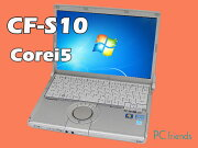 PanasonicLetsnoteCF-S10CYPDR(Corei5/̵��LAN/B5��Х���)Windows7Pro�����ťΡ��ȥѥ������B���