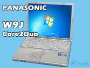 PanasonicLetsnoteCF-W9JWEGDS(Core2Duo/無線LAN/B5モバイル)中古ノートパソコン【Dランク】