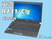 ���DynabookR731/C(Corei5/̵��LAN/A4������)Windows7Pro�����ťΡ��ȥѥ������B���