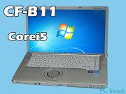 PanasonicLetsnoteCF-B11JWCYS(Corei5/̵��LAN/A4������)Windows7Pro�����ťΡ��ȥѥ������B���