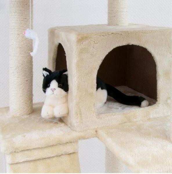 キャットタワー 猫 Cat Tower カラー3色 ワイドサイズ 高さ170cm (キャットタワー)(猫)(Cat) (Tower) カラー3色 (ワイドサイズ)(高さ170cm)()